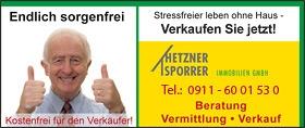 Hetzner-Sporrer Immobilien - Endlich sorgenfrei